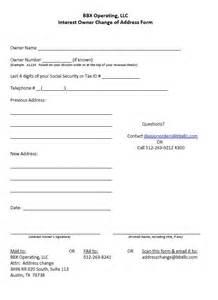 Address For Irs In Tx Address Change Form Bbx Operating Llc