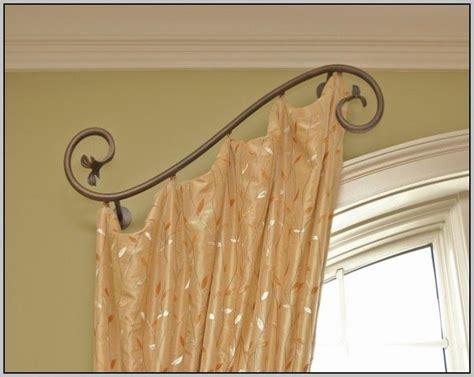 curtain swing rods the 25 best swing arm curtain rods ideas on pinterest