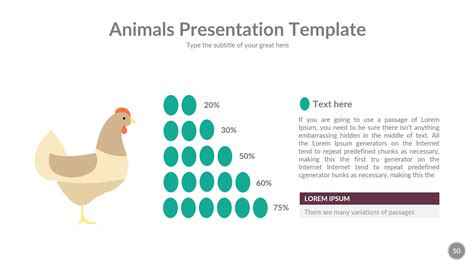 animals powerpoint presentation template by rengstudio