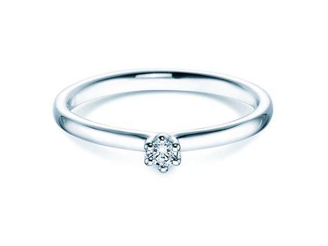 Verlobungsring Silber Diamant by Verlobungsringe Classic Silber Diamant 0 050 Ct 430581si