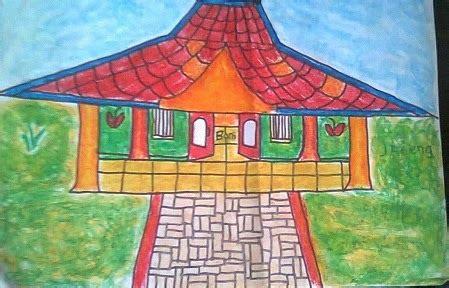 tutorial menggambar rumah adat adenium rumah adat nusantaraku