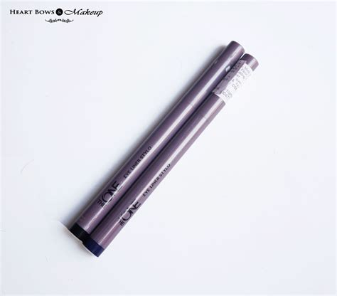 The One Eye Liner Stylo Oriflame oriflame the one eye liner stylo black blue review swatches bows makeup