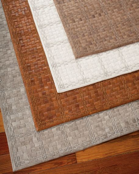 woven leather rugs derby woven leather rug 4 x 6