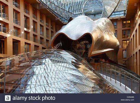 dg bank berlin dg bank berlin atrium by frank gehry stock photo royalty