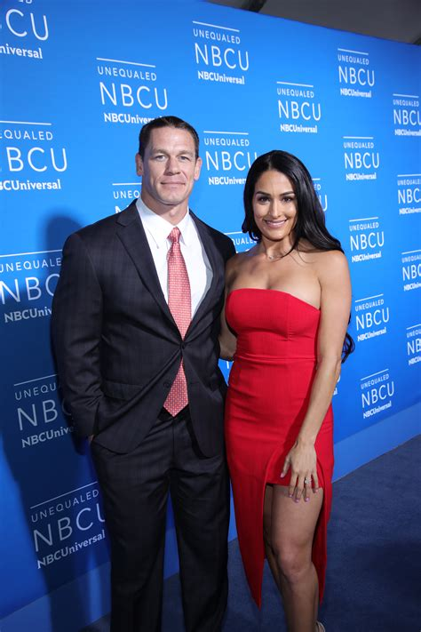 nikki bella and john nikki bella dishes on upcoming wedding with john cena