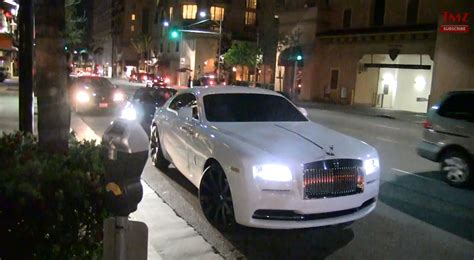 rick ross bentley wraith carl rolling in a wraith cars