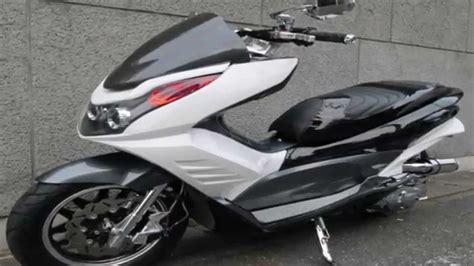 Pcx 2018 Modification by Honda Pcx 125 2011 The Stage By Free Easy Racing