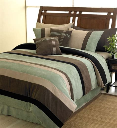 best 28 microsuede comforter sets brown microsuede