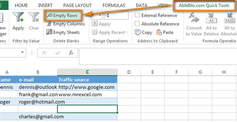 How To Delete Records 3 Ways To Remove Blank Rows In Excel Tip