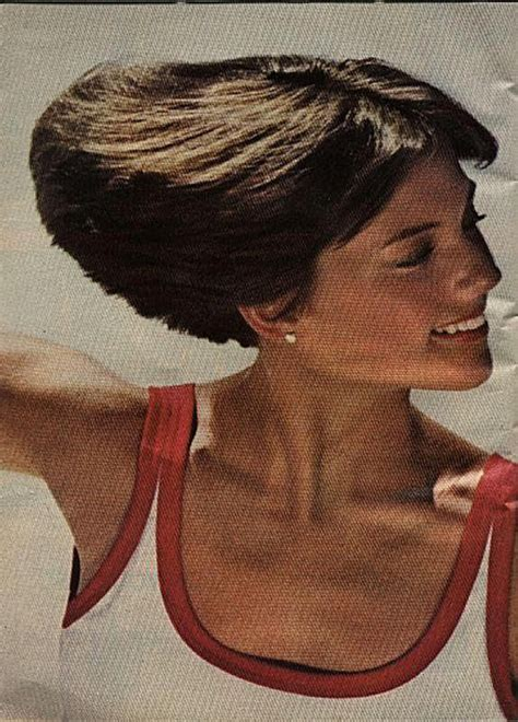 back of head showing a wedge hairstyle dorothy hamill s famous wedge haircut photo gallery