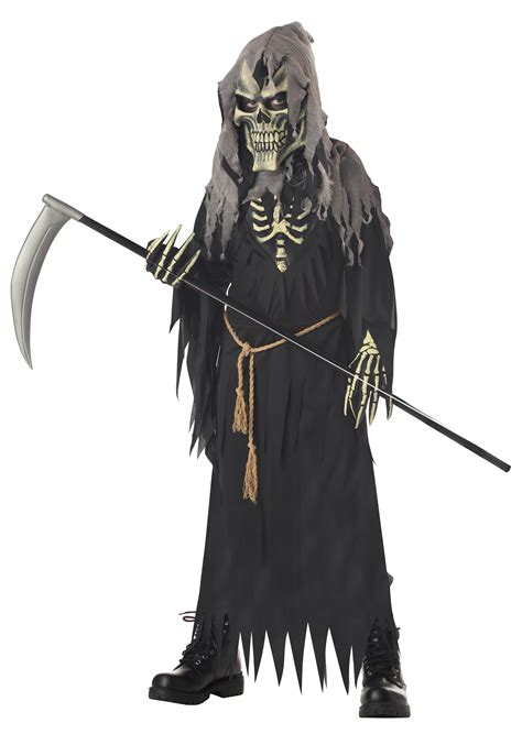 disfraz de la parca disfrazman 237 a kids dark messenger costume