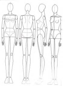 fashion doll template paper doll school july 2013