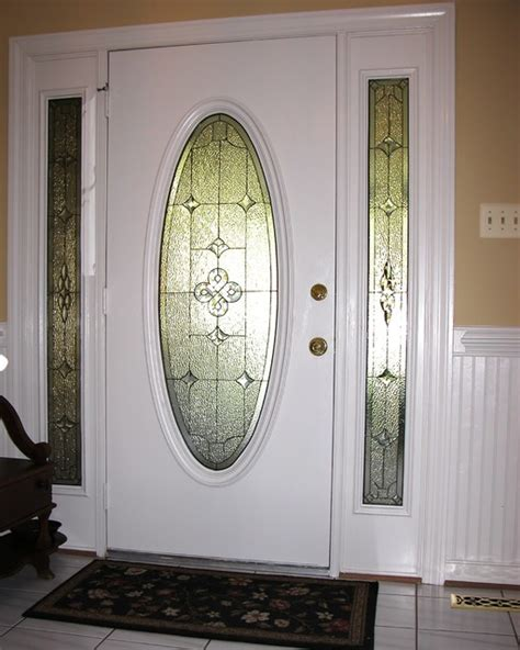 front door with oval window sidelights oval glass for door traditional front doors