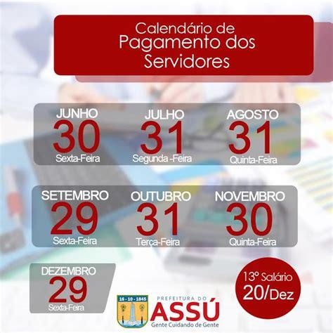 calendario de pagamento dos servidores de minas em 2016 prefeitura do ass 250 realiza pagamento em dia da folha de