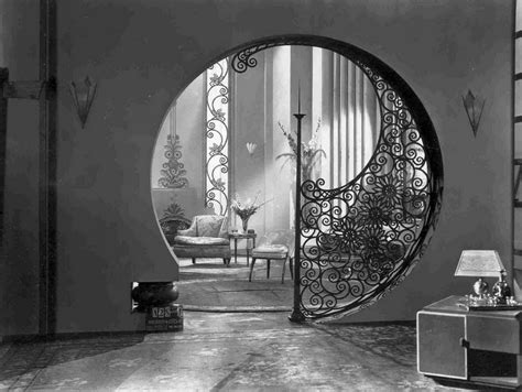 home interior deco art deco houses deco circular circular interiors art