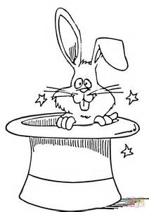 dibujo conejo en sombrero 225 gico colorear dibujos colorear imprimir gratis