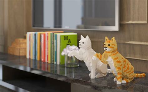 cat legos   cool  toy  cat lovers gallery
