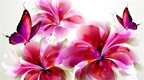 wallpaper hd 1920x1080 flowers flower with butterfly wallpaper hd desktop background