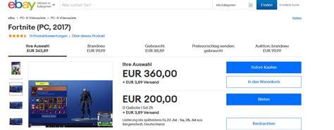 fortnite accounts deshalb sind fortnite accounts gerade hunderte euros