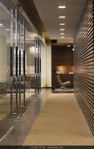 contemporary modern minimalistic entrance hallway office