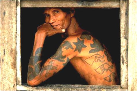 tato dayak community borneotattoo december 2010