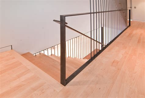 Modern Banister Rails by Modern Stairs Rail By Build Llc