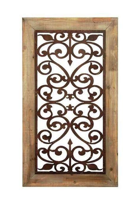 Carved Garden Gate Wall Panel Art Decor Framed Open Garden Gate Wall Decor