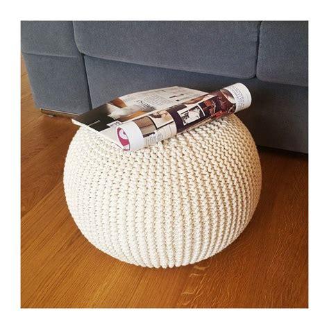 knitted ottoman italpouf
