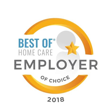Journey To Be Employer Of Choice Soft Cover easyliving receives 2018 best of home care employer of choice award