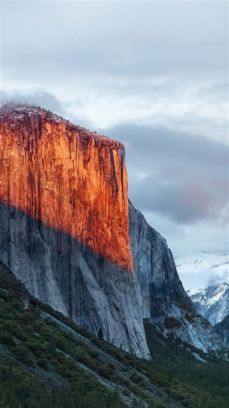Wallpaper Apple Mountain | am86 apple el capitan osx mac mountain wwdc nature papers co