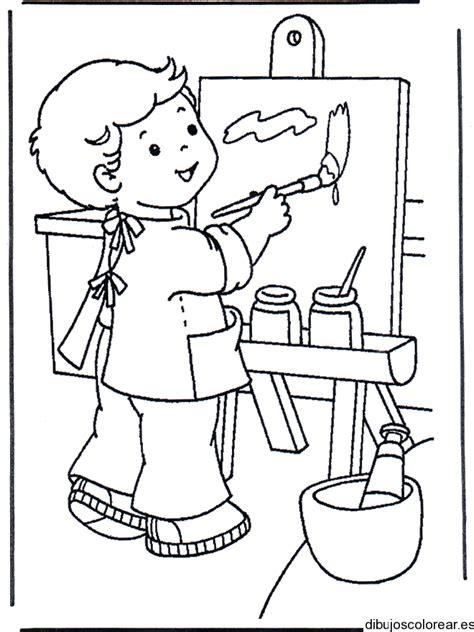 dibujos para pintar en tela infantiles az dibujos para colorear oficios y profesiones