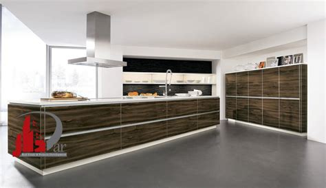 Island Kitchen Cabinets kitchen cabinets modern two tone white dark wood macassar