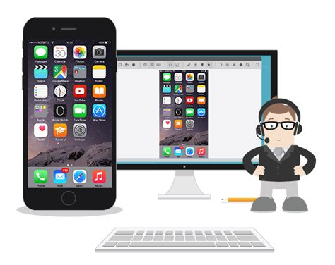 mobile to mobile remote access support iphones and ipads effectively with a powerful