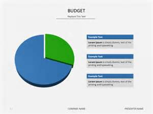 powerpoint slide templates budget