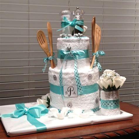kitchen towel cake bridal shower gift gift ideas make 1000 images about bridal shower gift ideas on pinterest