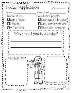 Doctor Worksheets For Kindergarten by 1000 Images About Preschool Activities Year On