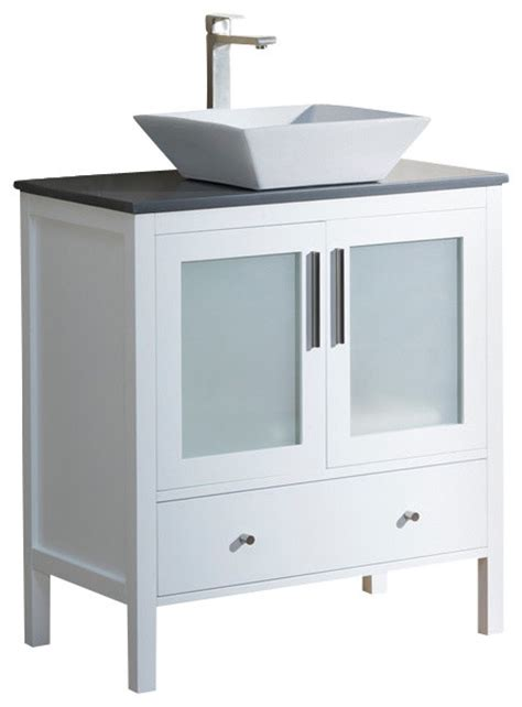 beige bathroom vanity vanity fulton 32 with vessel sink espresso beige sink