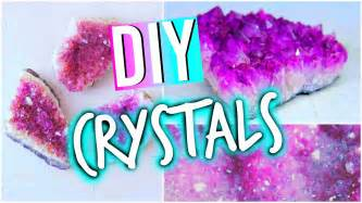 how to make crystals at home diy room decorations inspired crystals