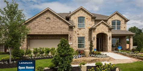 lennar homes in katy falls at green