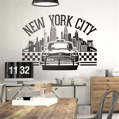 Times Square Wall Mural new york decals