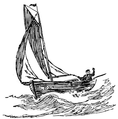 boat drawing clipart line drawing of a boat clipart best