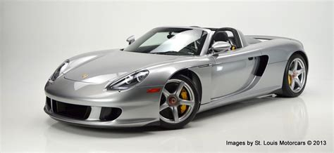 Porsche Gt Preis by 2005 Porsche Carrera Gt For Sale At St Louis Motorcars