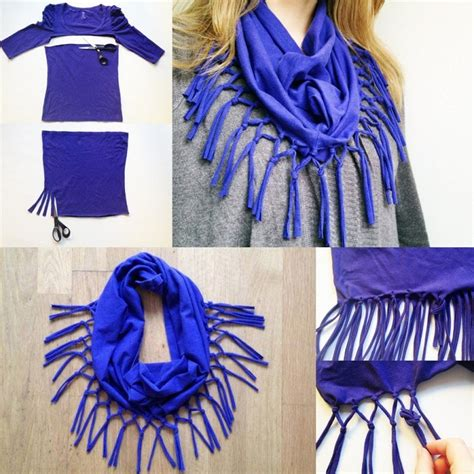 top 10 t shirt scarf tutorials top inspired