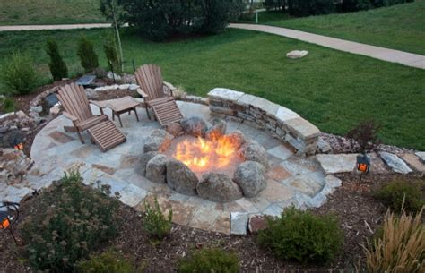 Portable Outdoor Fireplace Ideas - outdoor fire pit ideas for s more campfire memories