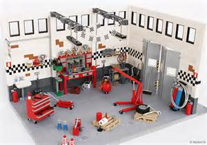 Auto Shop Floor Plans Check Out These Incredibly Detailed Lego Auto Garage And