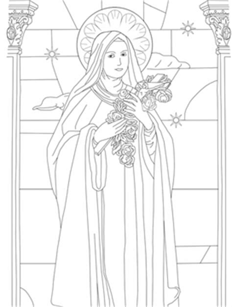 saints blesseds and clergy free coloring pages st