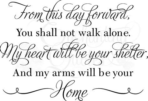 Wedding Quotes May You From This Day Forward Enchantingquotes