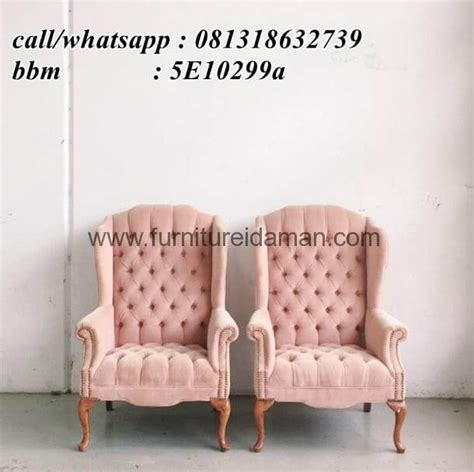 Sofa Angin Di Ace Hardware kursi sofa warna pink modern mewah ks 03 furniture idaman furniture idaman