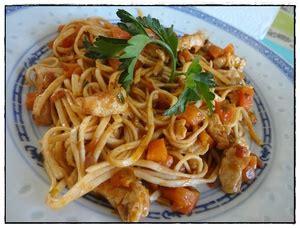 cuisiner nouilles chinoises nouilles chinoises poulet choux de bruxelles et of