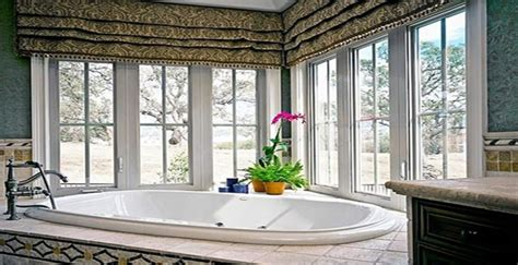 bathroom window treatment ideas 7 bathroom window treatment ideas for bathrooms blindsgalore